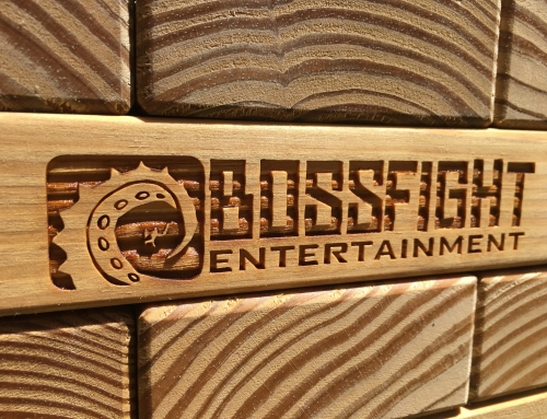 A Very Cool Logo – BossFight Entertainment